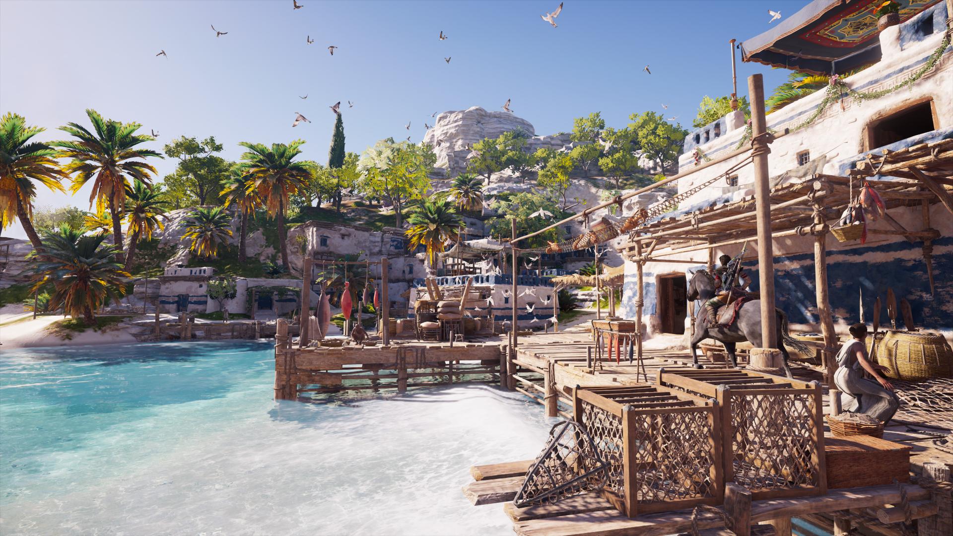 assassin's creed odyssey, sahil kasabası