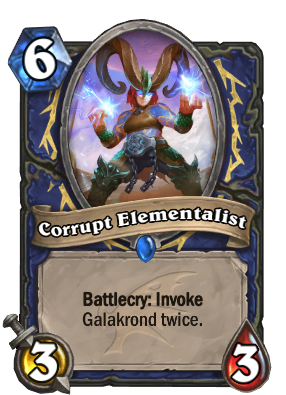 descent of dragons, Corrupt Elementalist