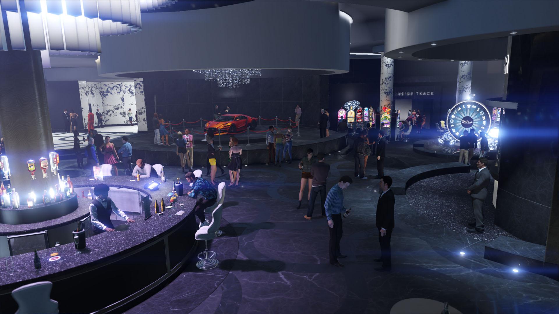 GTA Online Diamond Casino Lobby