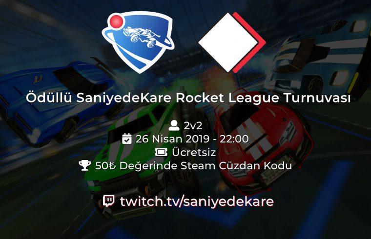 Ödüllü SaniyedeKare Rocket League Turnuvası