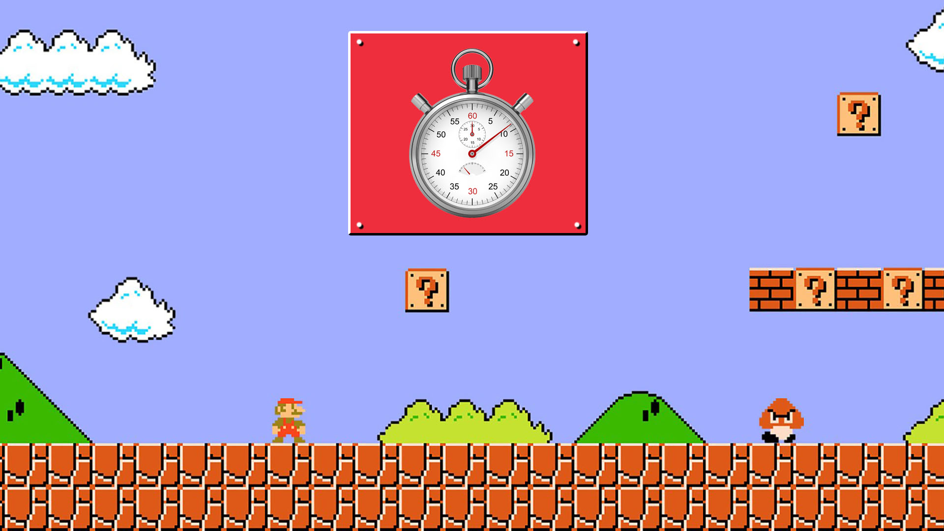 Speedrun - Super Mario Bros