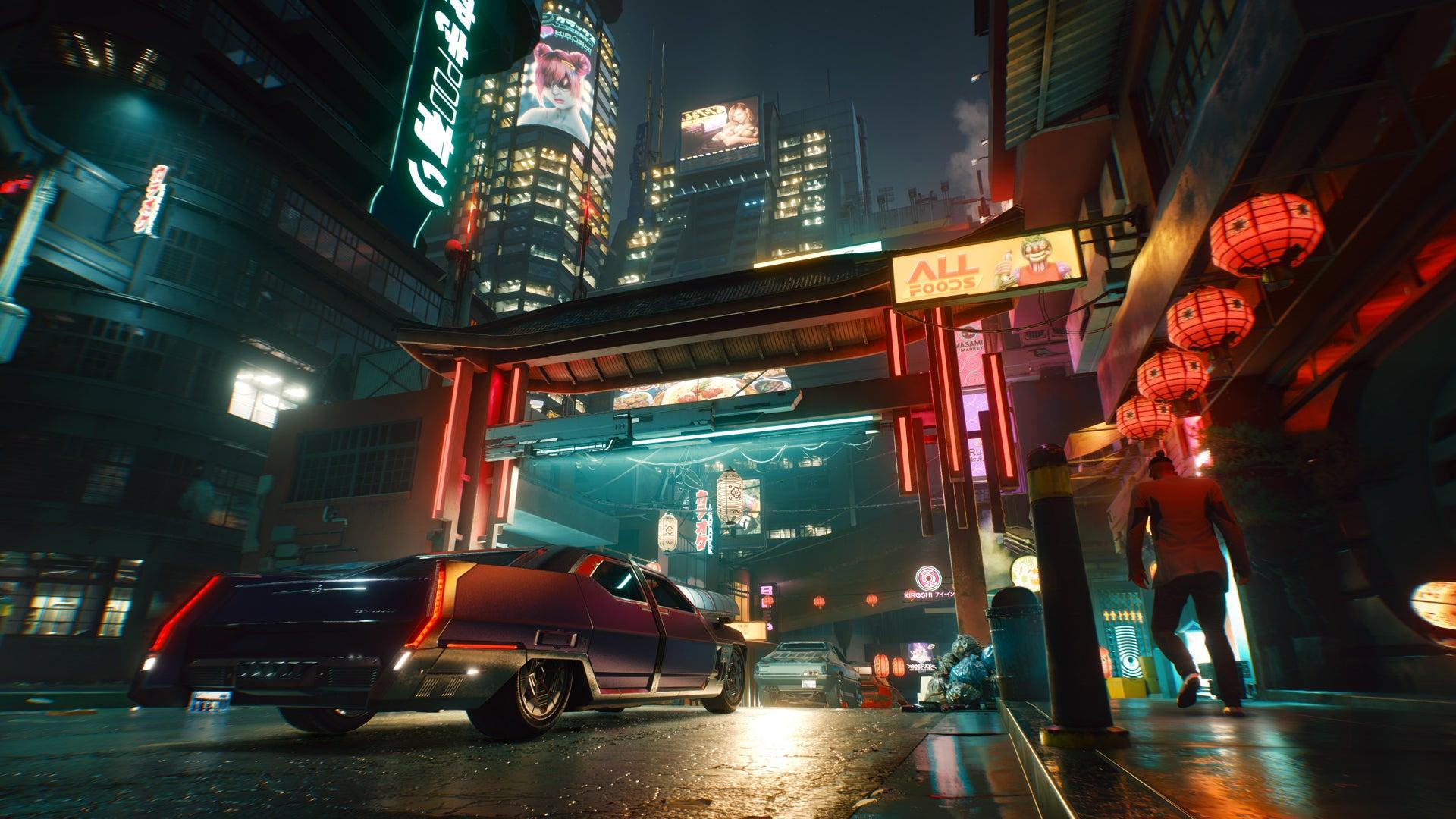 cyberpunk 2077, şehir