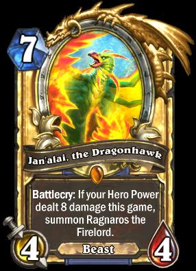 rastakhan's rumble Jan'alai, the Dragonhawk