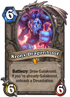 descent of dragons, kronx dragonhoof