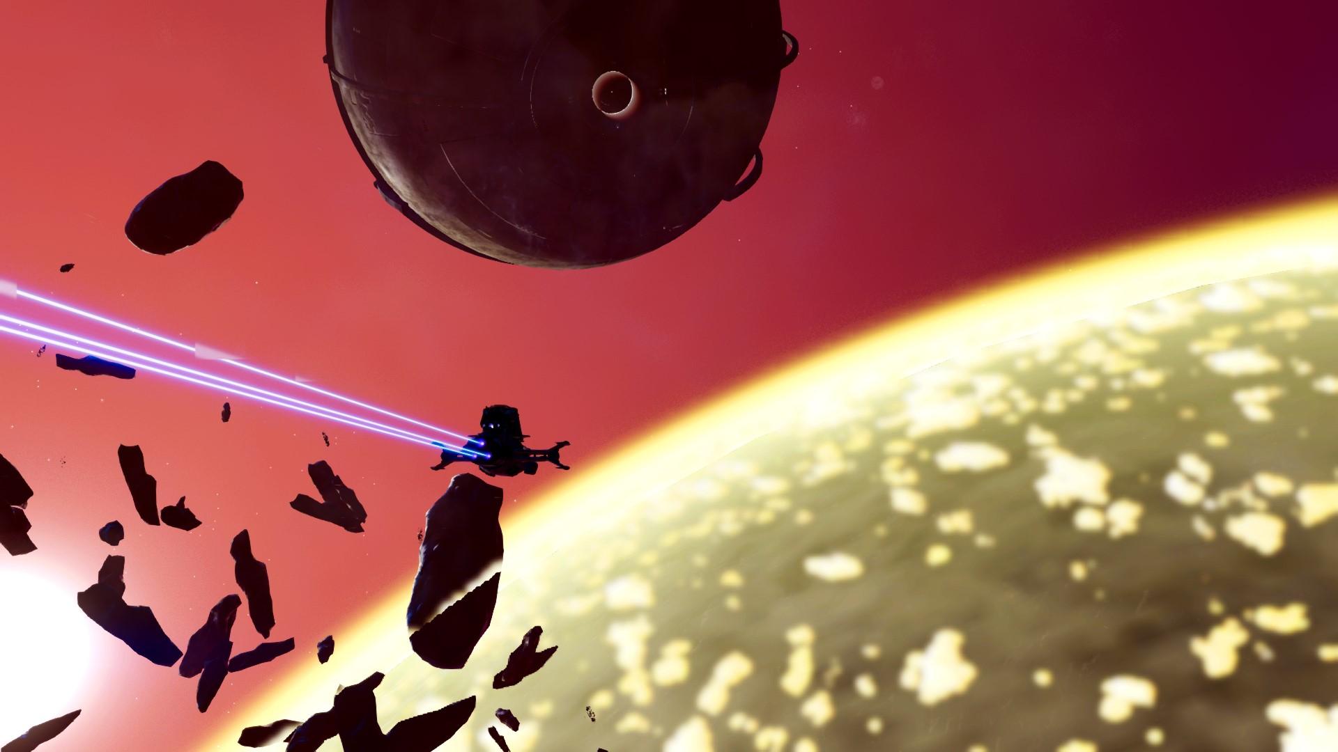 no man's sky: beyond, uzay