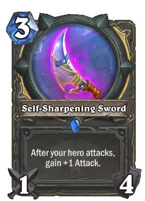 scholomance academy, self-sharpening sword