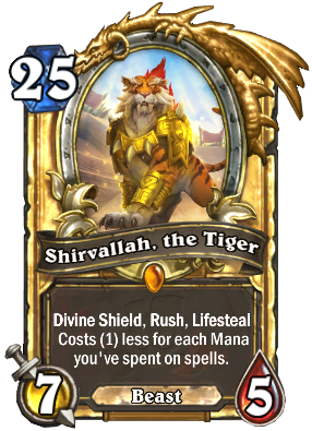 rastakhan's rumble shirvallah the tiger