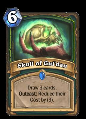 ashes of outland, skull of gul'dan
