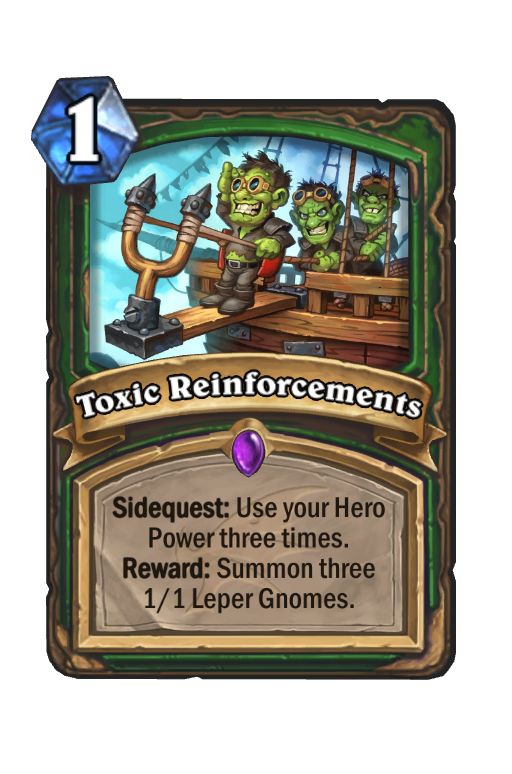 descent of dragons, toxic reinforcements