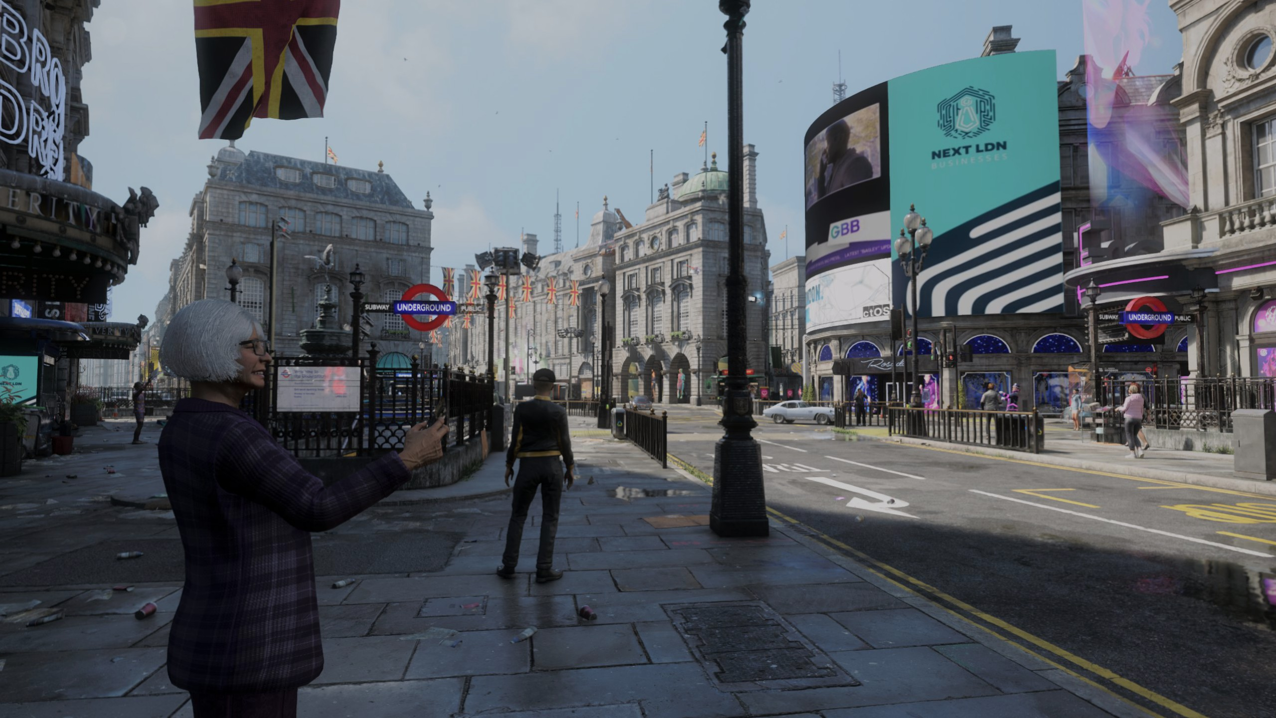 watch dogs: legion, permadeath, piccadilly